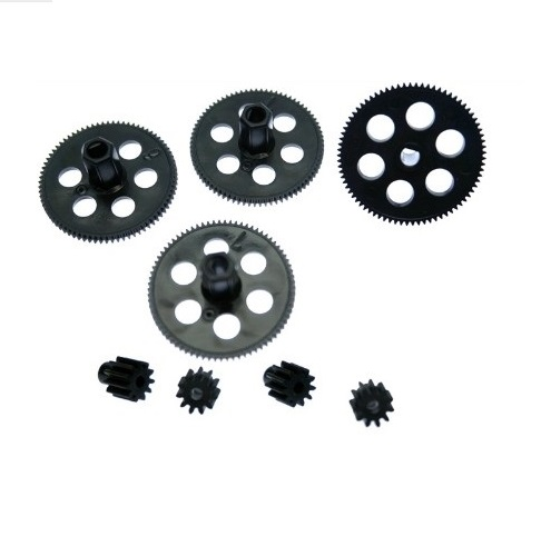 8PCS Upgrade Shaft Gear Small Motor Gears 11 Teeth Spare Parts For Visuo XS809 XS809HW XS809HC RC Drone