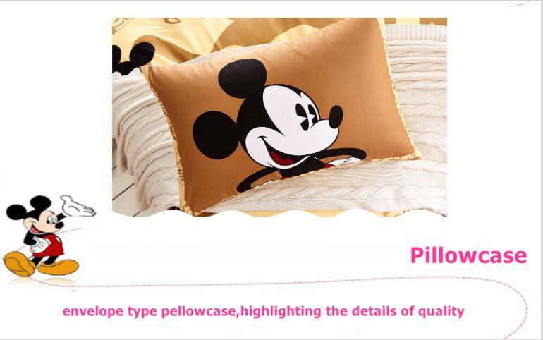 44b5afe309 ᗗJogo de Cama de Impressão dos desenhos animados Da Disney Mickey ...