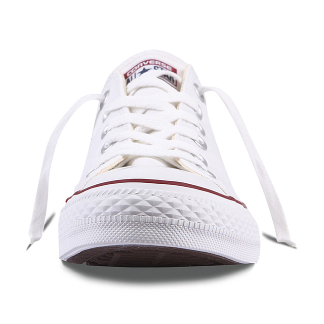 Authentic Converse ALL STAR Classic Breathable Canvas Low-Top Skateboarding Shoes Unisex Anti-Slippery Sneakers for Young Men 3