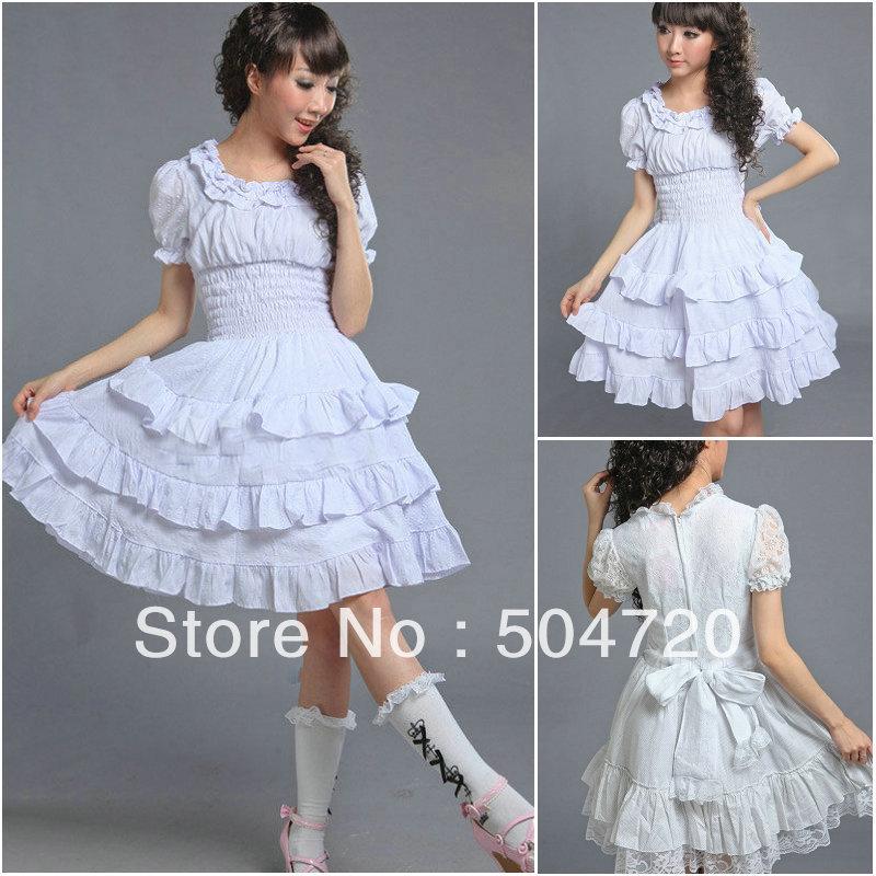 Freeship satin satin long sleeve Classic Gothic school Lolita Dress victorian  dress 6a0b38d3b2f1