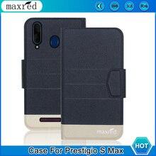 5 Colors! Prestigio S Max Case 2019 High Quality Flip Ultra-thin Luxury Leather Protective Case For Prestigio S Max Cover Phone цена