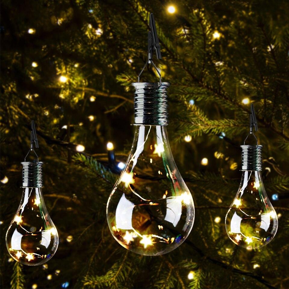 Led Solar String Lights Led Fairy Lights Solar Lamp Christmas Garden Decorations For Home Outdoor Led Garden Solar Light Solar Lamps Aliexpress