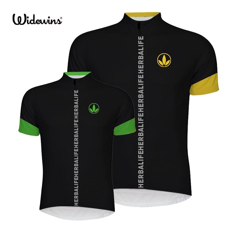 HERBALIFE 2017 Հեծանվավազք Jersey կանաչ հեծանիվ հագնել շնչառական հեծանիվ Առողջ HERBALIFE Հեծանվավազք HERBALIFE Հագուստ Սպորտ 6512