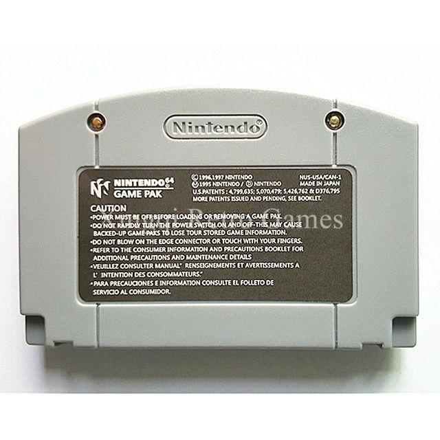 Nintendo 64 Game Mario Kart 64 Video Game Cartridge Console Card English Language US Version