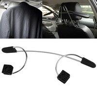 Catuo Hot High Quality Convenient Car Auto Seat Headrest Clothes Coat Suit Pattern Metal Driver Passenger