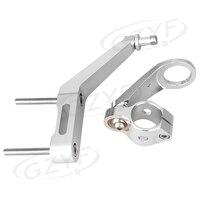 For Honda CBR954RR CBR 954 RR 2002 2003 Motorcycle Steering Damper Stabilizer Bracket Mounting Holder Set CNC Aluminum