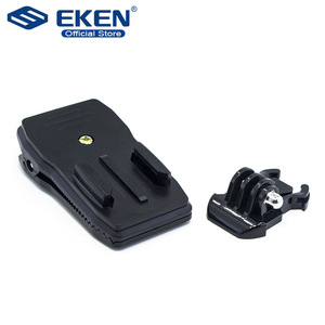Image 1 - Quick CLIPกระเป๋าเป้สะพายหลังRucksackหมวกCLAMP Mount AdapterสำหรับGoPro HERO 6 5 4 3 + 2/สำหรับXiaomi/foryi 4K/กล้องกีฬา