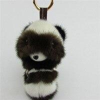 trinket Fur Pom Pom Key Chain Women Trinket monster Toy Doll Bag Car Key Ring Monster Keychain Jewelry Gift