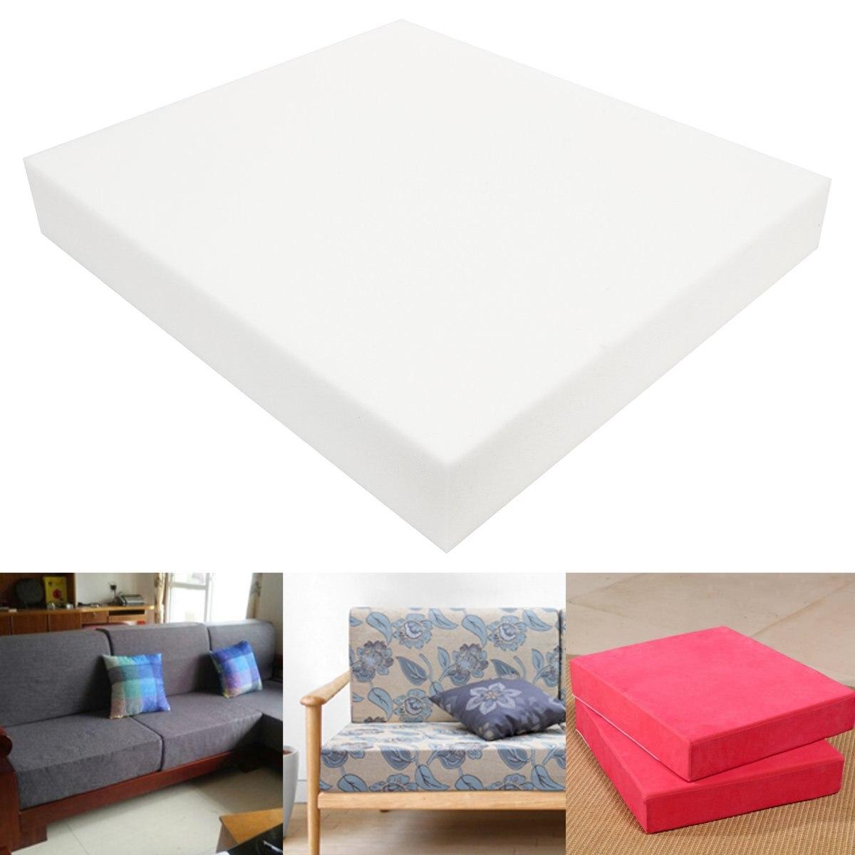 High Density Upholstery Cushion Foam Chair Sofa Seat Foam Pad Sheet Mattress Bed Floor High Density Upholstery Cushion 55X55cm