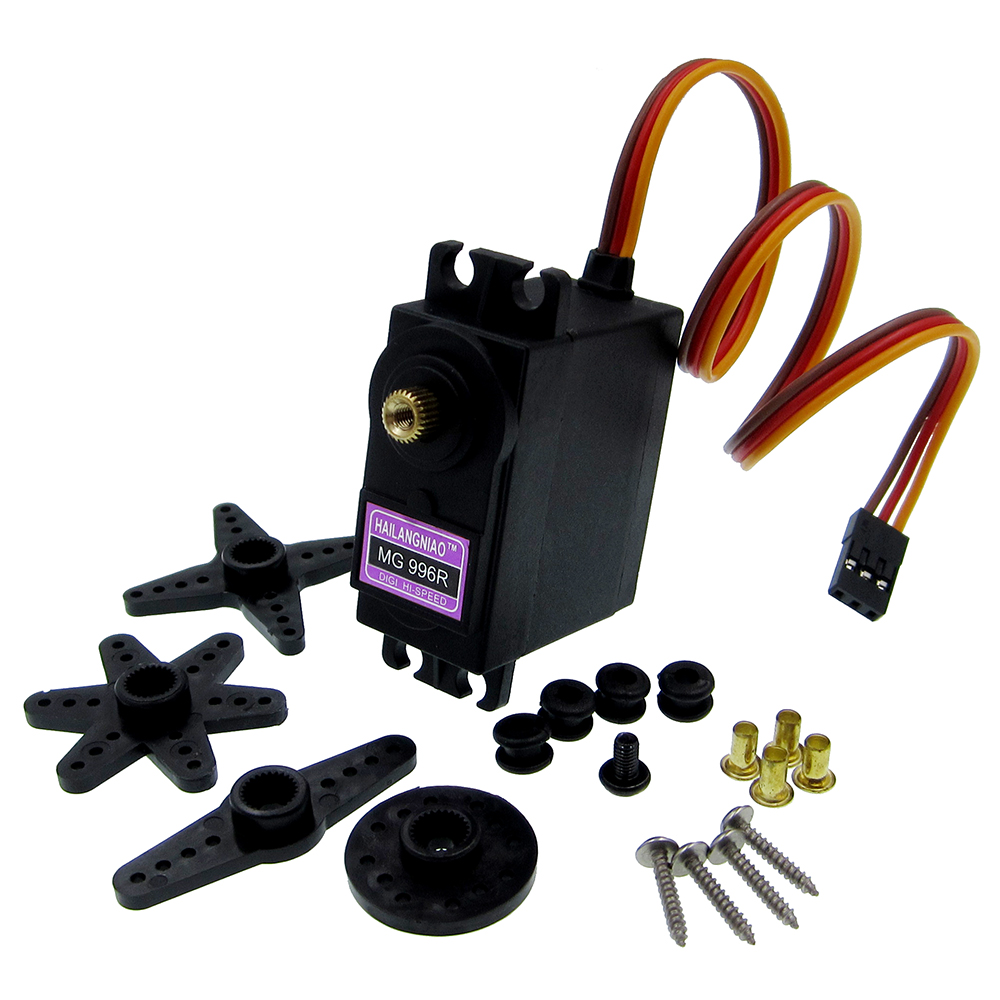 Replacement Parts & Accessories Qualified 1pcs Mg996r Mg996 Metal Gear Rc Servo High Speed & Torque Rc Car 1/8 Mg996r Degree Big Clearance Sale