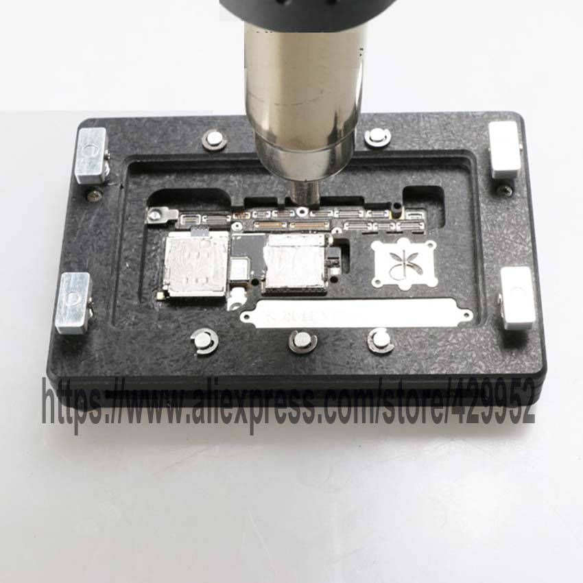 For iPhone X Lock plate Repair Clamp Fixed Platform Maintenance Fixture Upper and Lower Welding of Main Board