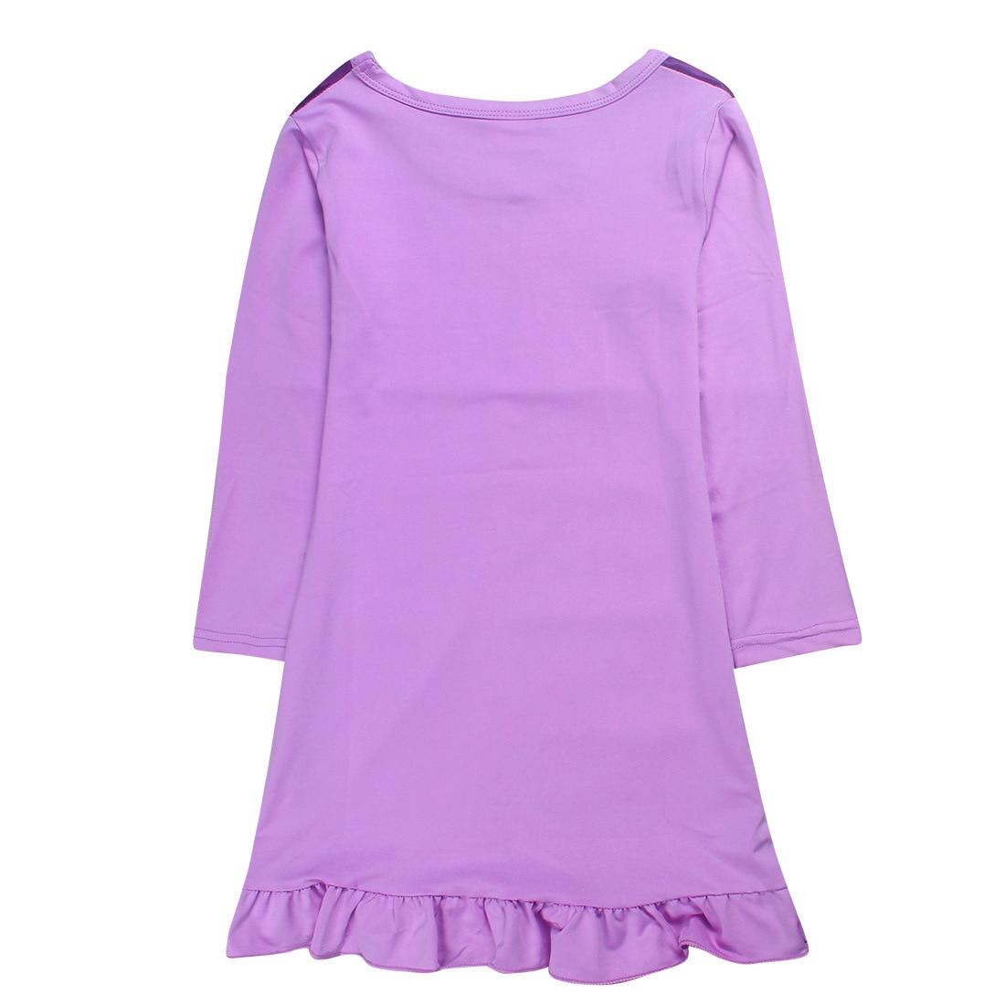 2018 spring Unicorn girl children Long sleeves sleepingwear ...