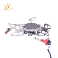 BULIN BL100 B15 Mini Split Gas Stove Outdoor Camping Picnic Foldable Cooking Camping Burners Gas Stove Portable BBQ Gear