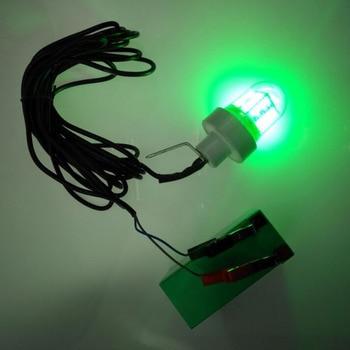 10 M Kabel Listrik IP68 12 V LED Underwater Fishing Light 6000 Lumens DROP Kapal Ikan Malam 60 W