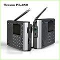 Tecsun PL-380 PLL ETM DSP Digital Portátil Estéreo Radio FM/LW/SW/MW Mundial Receptor Tecsun pl380, Freeshipping, venta al por menor, venta al por mayor