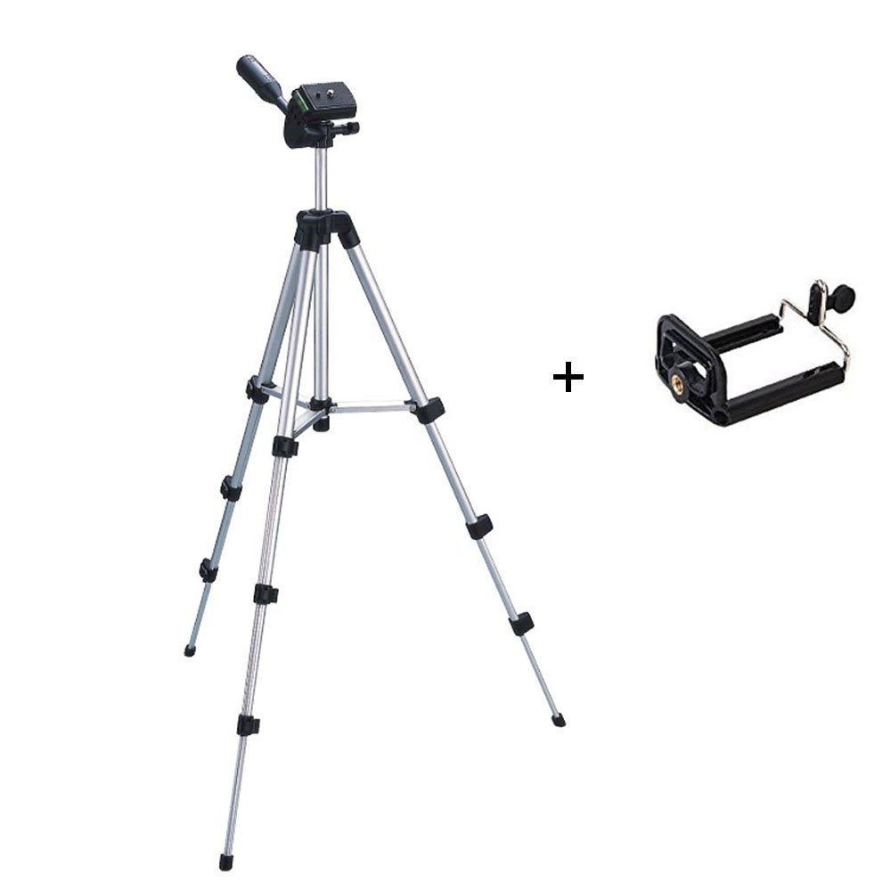Flexible Tripod with Clip Phone Holder Portable Tripod for Camera Phone Mini Projector Bracket Stand Mount Ball Head Lightweight