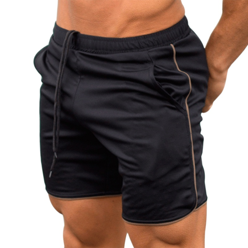 New2018 Mens Shorts Summer Mens Beach Shorts Trousers Casual Male Shorts Quick Dry Brand Bodybuild Jogger Sweatpants Fitness