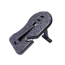 Folding door handle safety hammer seat belt cutting tool vehicle SUV assisted climbing roof frame emergency escape