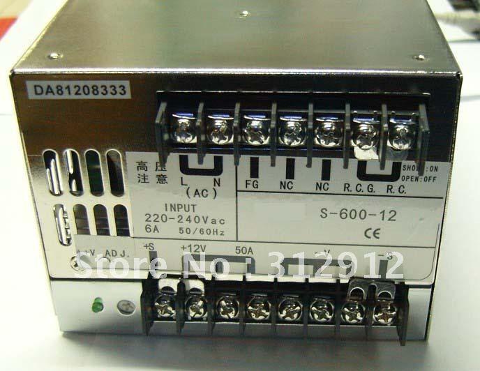 Işıklar ve Aydınlatma'ten Aydınlatma Çeviriciler'de 12 V/24 V/48 V/600 W güç anahtarı kaynağı  boyutu; 170*120*93mm  led sürücü  led güç kaynağı; daha büyük bir title=
