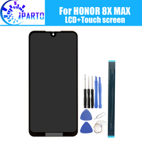 7.12 inch for Honor 8X MAX LCD Display+Touch Screen 100% Original Tested LCD Digitizer Glass Panel Replacement For Honor 8X MAX