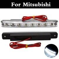 Car Daytime Running Light 8 LED DRL Super White Head Lamp For Mitsubishi Galant I I