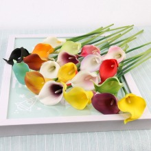 Artificial Calla Lily Flowers For Decorations Dried Wedding Home Supplies
