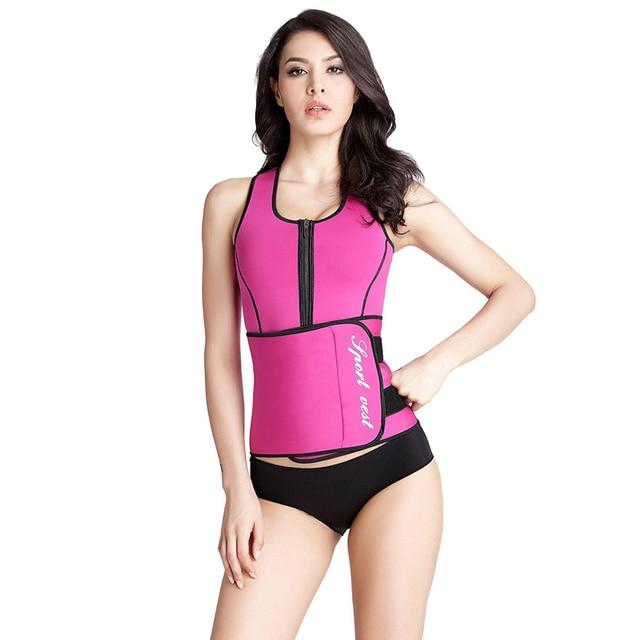 76e3a0da0db9e AJ2242 Firm Control Waist Trainer Corsets Slim Shaper Ajustable Waist  Trimmer Belt For Women Plus Size Slimming Body Shaper