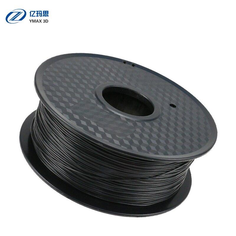 3D żarnik drukarki ABS 1.75mm 1 kg tworzyw sztucznych materiałów eksploatacyjnych gumy 28 rodzajów kolorów do wyboru