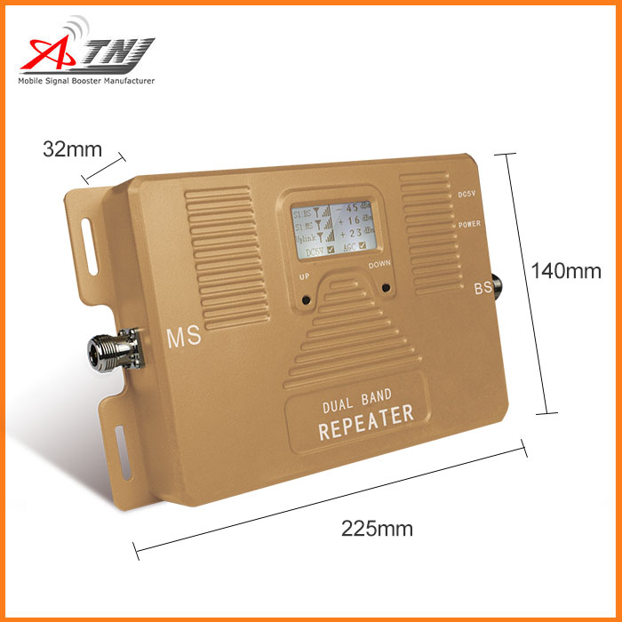 295db76a203f12 Dual band 2G 3G 4G 1800/ 2100MHz mobile signal booster best quality cellular  repeater amplifier only device-in Signal Boosters from Cellphones ...