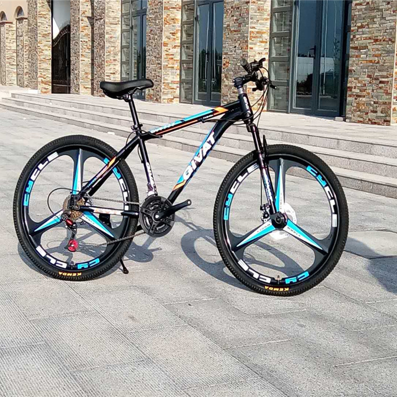 26-Inch Adult Mountain Bike 21 Speed High Carbon Steel Mountain Bicycles Sport Men Women Bicicleta
