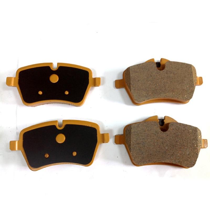 4 pièces Auto Qualité Céramique Avant Plaquettes De Frein De Voiture De Remplacement Pour Mini Cuivre R50 R53 R55 R56 R60 Voiture Accessoires 34 116 770 251