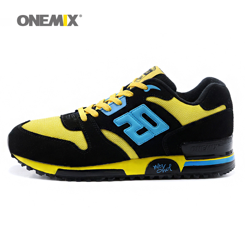 New Man Running Shoes For Men Track Field Sports Shoe Agan Retro Classic Athletic Trainers Black Sports Outdoor Walking Sneakers 2016 sale hard court medium b m running shoes new men sneakers man genuine outdoor sports flat run walking jogging trendy