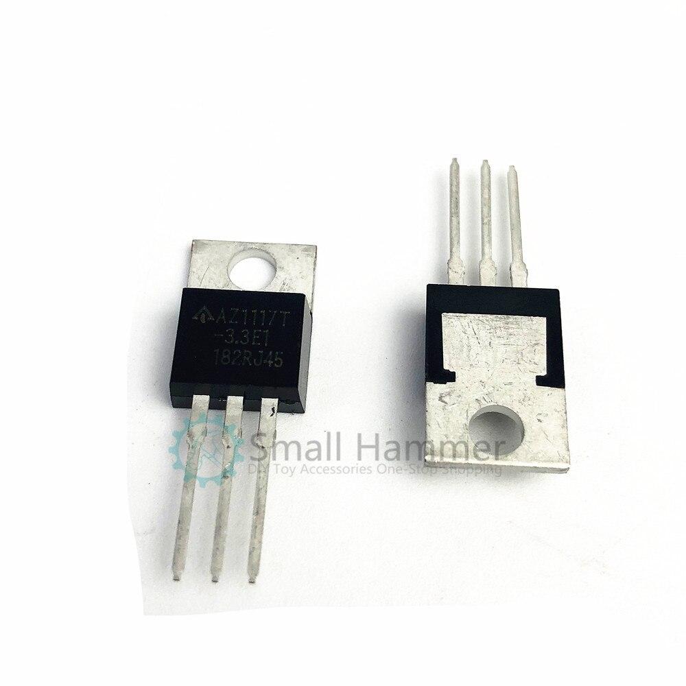 5pcs New In-line LM1117T-3.3 1117-3.3 Regulator IC