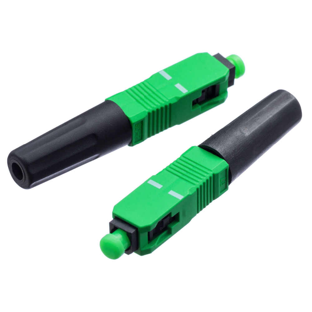 0.3dB 100 шт. FTTH SC APC Одномодовый волокно оптическое SC APC Быстрый разъем SC FTTH волокно оптический Быстрый разъем