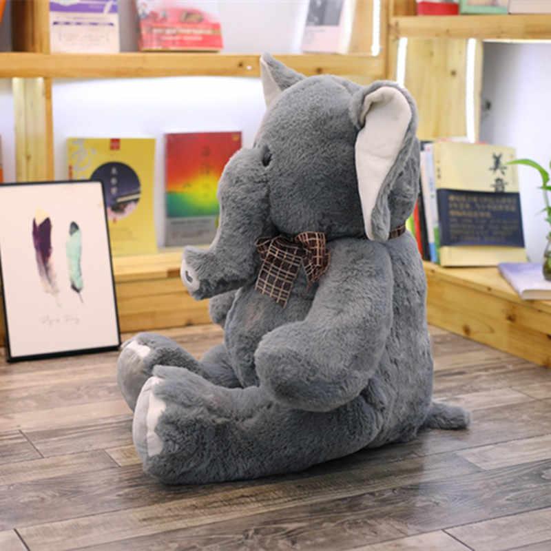 Hot Kawaii Playmate Infantil Apaziguar Elefante Elefante de Pelúcia Macia do Bebê Boneca Calma Brinquedos De Pelúcia Boneca de Brinquedo de Pelúcia Travesseiro Presente de Natal