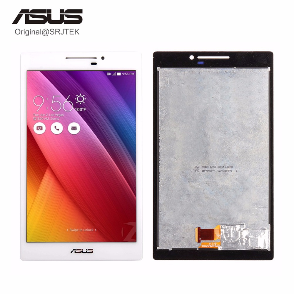For Asus Zenpad 7.0 Z370 Z370CG Z370KL LCD Display Matrix with Touch Screen Digitizer Sensor Tablet PC Replacement Parts asus zenpad 3s 10 z500m tablet pc