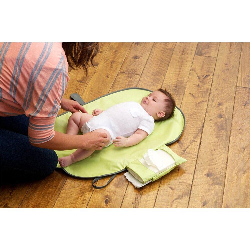 Новорожденных Складной Водонепроницаемый пеленальный коврик пеленки портативный Детский пеленки Чехол коврик чистая ручная Складная пеленка сумка игровой коврик