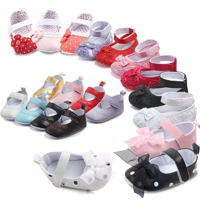 Нескользящие детские первые ходунки обувь для девочек детские мокасины полиуретановые кожаные для детей девушка мягкая подошва кроссовки Тапочки обувь купить на AliExpress