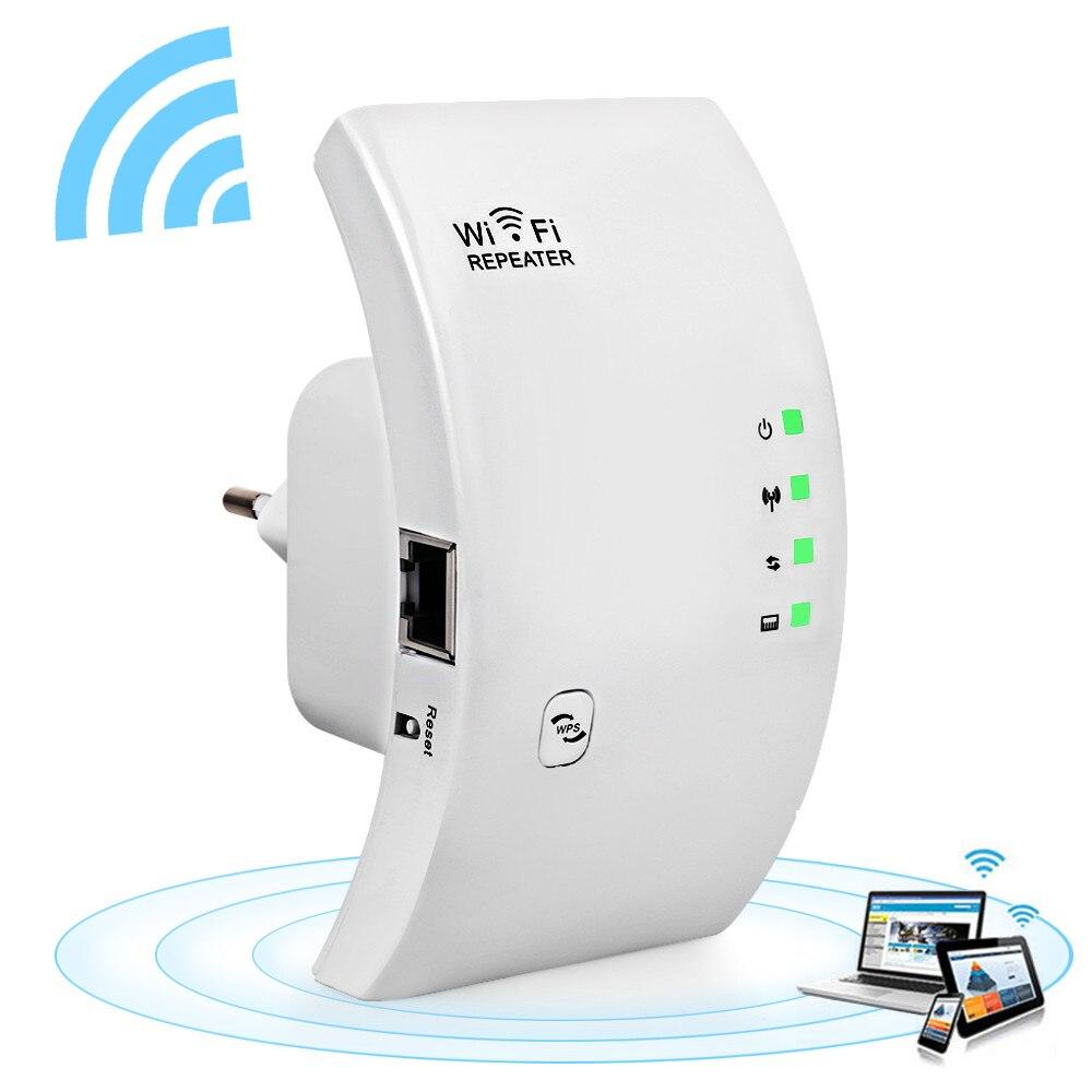 Sem fio Wi-fi Repetidor Extensor de Alcance Wi-fi 300Mbps Rede Wi fi Amplificador de Sinal de Reforço Repetidor de Ponto de Acesso Wi-fi