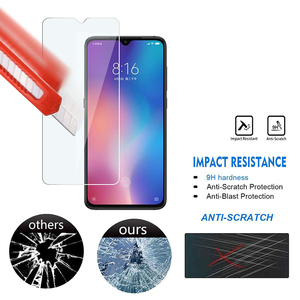Image 4 - 5Pcs Tempered Glass For Xiaomi Mi 9 Screen Protector 9H 2.5D Phone On Protective Glass For Xiaomi Mi 9 SE Mi9 Glass
