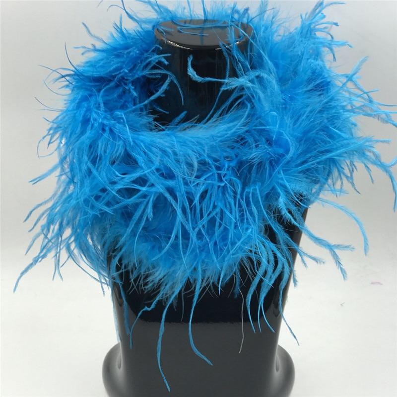 Blue Feather Boa,MarabouOstrich Feather Boas, Feather