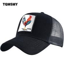 TQMSMY Men Women Baseball Cap Hats For Men Trucker Hat Cock Adjustable Cotton Mesh Snapback Hat