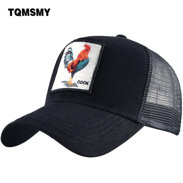 eaca5ed2434 TQMSMY Men Women Baseball Cap Hats For Men Trucker Hat Cock Adjustable  Cotton Mesh Snapback Hat