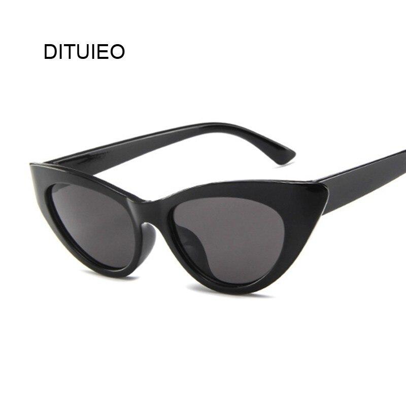 Cat Eye Sunglasses Women Brand Designer Vintage Luxury Eyes Sweet Cute Sun Glasses Female Retro Black Red Eyewear Shades UV400