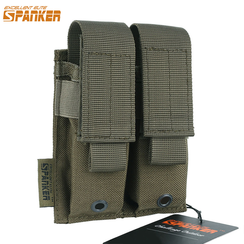ELITE EXTREME ESSENTIAL Outdoor Tactical Military Pistol Double Pistol Mag Amoy Clip Ammo Holster Pouch Universal Hunting Equipment