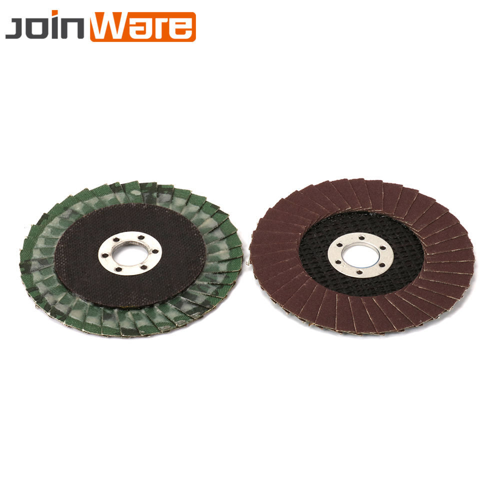 Tools 4 Inch 60~320# Flap Disc Sanding Grinding Wheel Abrasive Tool For Angle Grinder Polishing Stainless Steel And Metal 10pcs Large Assortment