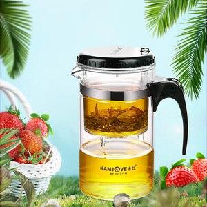 Image 4 - glass  tea pot 1000ml glass teapot elegant glass cup filter cup чайник заварочн