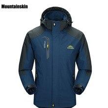 Новинка, весна-осень, Мужская Флисовая Куртка для пешего туризма, мужская куртка для кемпинга, походов, альпинизма, водонепроницаемая, ветрозащитная, VA002