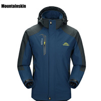 2016 New Spring Autumn Mens Softshell Hiking Jackets Male Outdoor Camping Trekking Climbing Coat For Waterproof