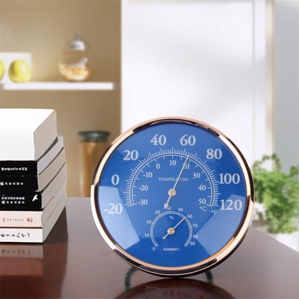 Grand rond intérieur extérieur thermomètre hygromètre température hygromètre thermomètre testeur table stand mur